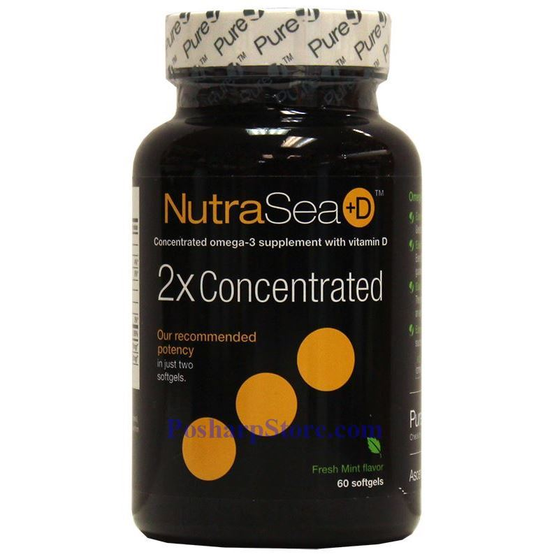 Picture for category Ascenta NutraSea+D Omega-3 Fresh Mint Flavor 1250 mg 60 Softgels