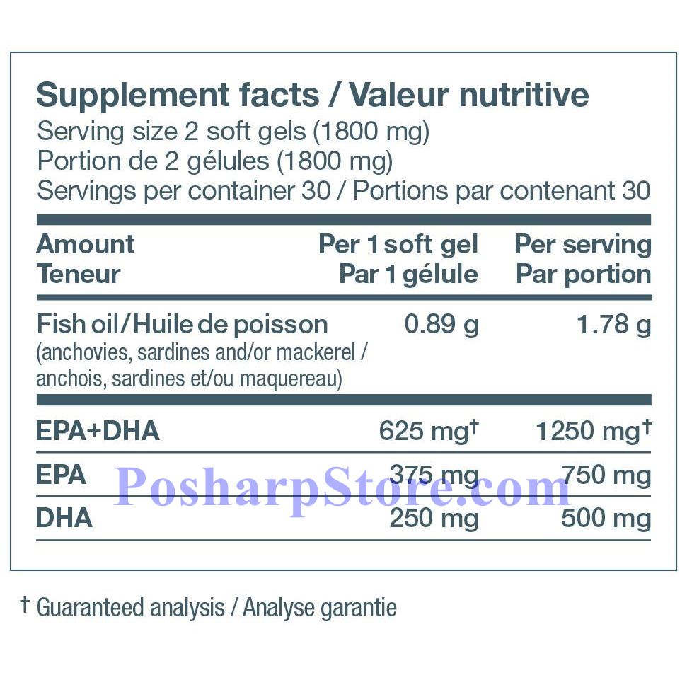 Picture for category Ascenta NutraSea Omega-3 Fresh Mint Flavor 1250 mg 60 Softgels