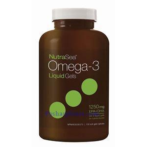 Picture of Ascenta NutraSea Omega-3 Fresh Mint Flavor 1250 mg 150 Softgels
