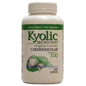 Picture of Kyolic Aged Garlic Extract™ Original Formula 100 Cardiovascular 600mg 200 Capsules