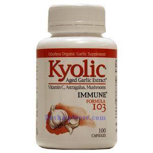 图片 Kyolic牌增大蒜精强免疫配方103胶囊 100粒