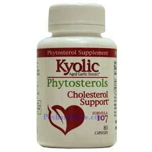 Picture of Kyolic Aged Garlic Extract™ Formula 107 Phytosterols 80 Capsules