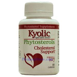 图片 Kyolic牌增大蒜精调节胆固醇配方107胶囊 80粒