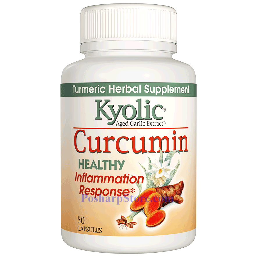 Picture for category Kyolic Aged Garlic Extract™ Curcumin 50 Capsules