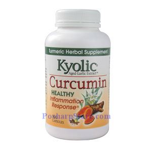 Picture of Kyolic Aged Garlic Extract™ Curcumin 100 Capsules