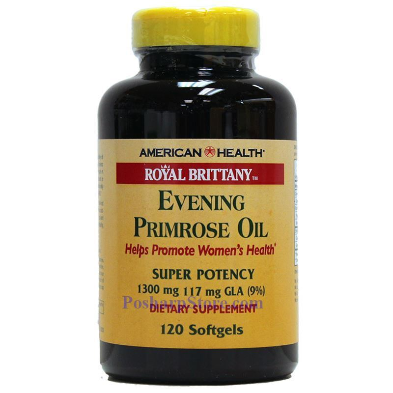 Picture for category American Health Royal Brittany™ Evening Primrose Oil Twin Pack 1300 mg 120+120 Softgels