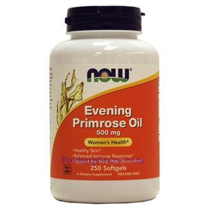 Picture of Now Foods Evening Primrose Oil 500 mg 250 Softgels
