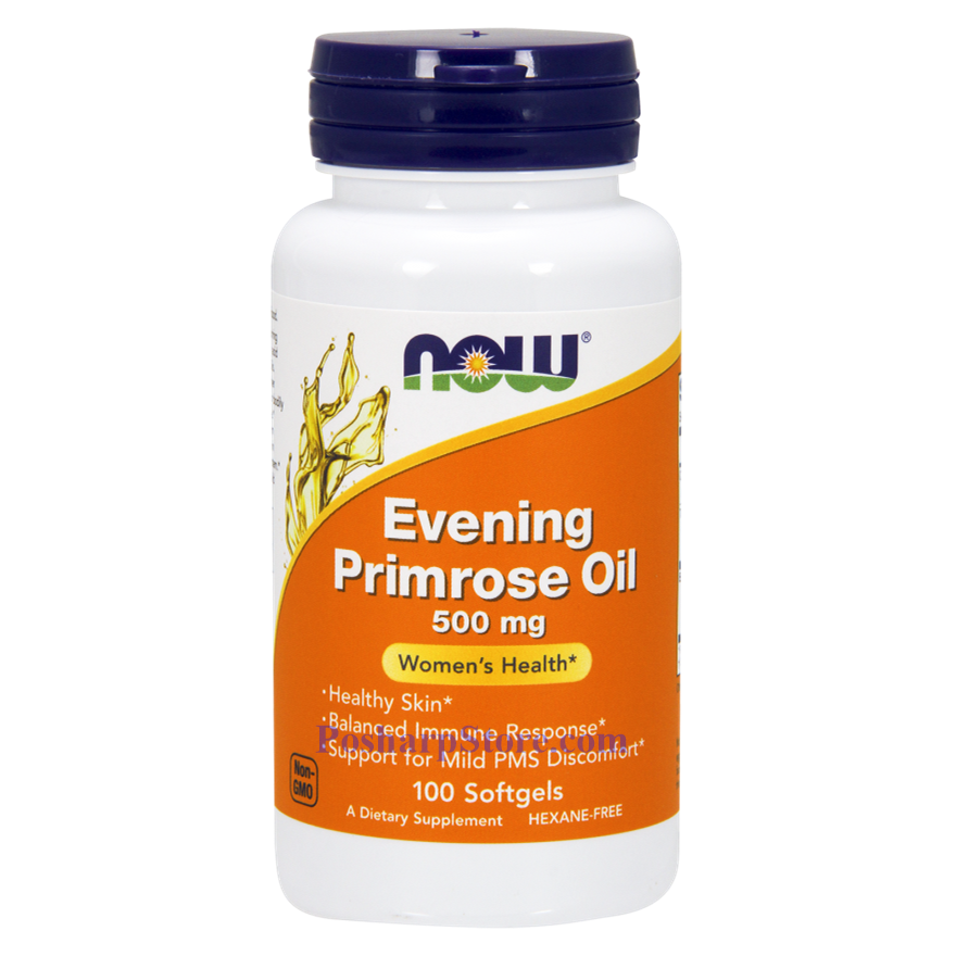 Picture for category Now Foods Evening Primrose Oil 500 mg 100 Softgels