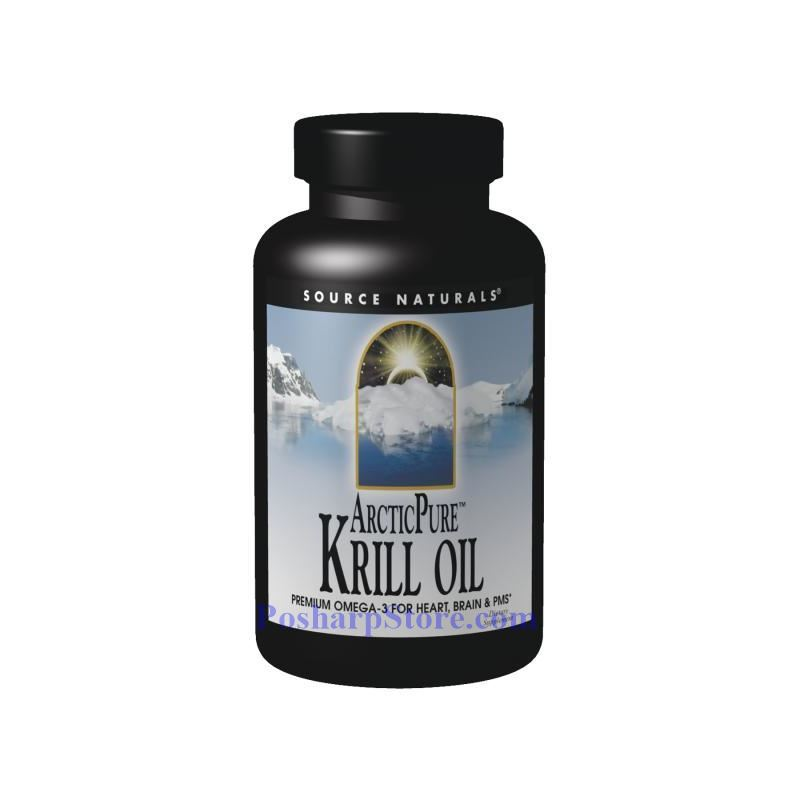 Picture for category Source Naturals ArcticPure Krill Oil 1000 mg 60 Softgels