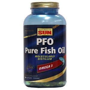 Picture of Health From the Sun Pure Fish Oil Omega-3 1000 mg 180 Softgels