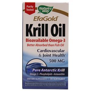 Picture of Nature's Way EfaGold Krill Oil 500 mg 30 Softgels