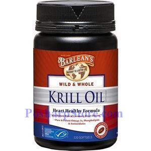 Picture of Barlean's Wild & Whole Krill Oil 1000mg 120 Softgels