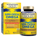 Picture of Renew Life Norwegian Gold Critical Omega Maximum-Strength Fish Oil 60 Softgels