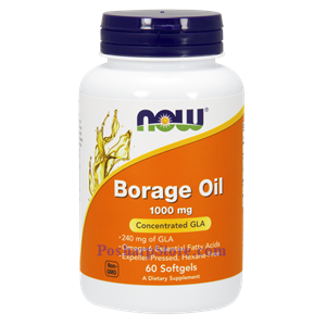 Picture of Now Foods Borage Oil 1000 mg 60 Softgels