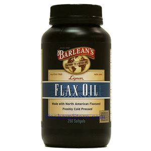 Picture of Barlean's Lignan Flax Oil 250 Softgels