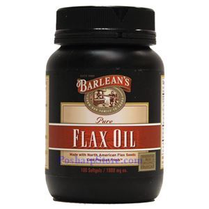 Picture of Barlean's Pure/Fresh Flax Oil 100 Softgels