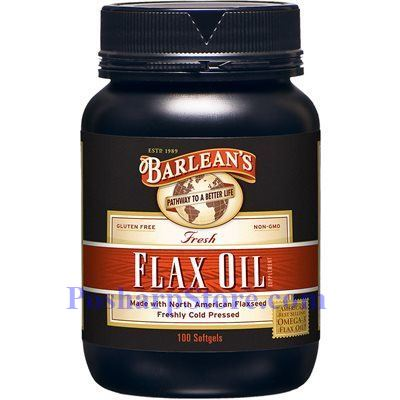 Picture for category Barlean's Pure/Fresh Flax Oil 100 Softgels