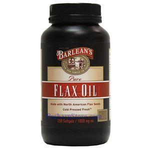 图片 Barlean's牌纯亚麻籽油软胶囊 250粒