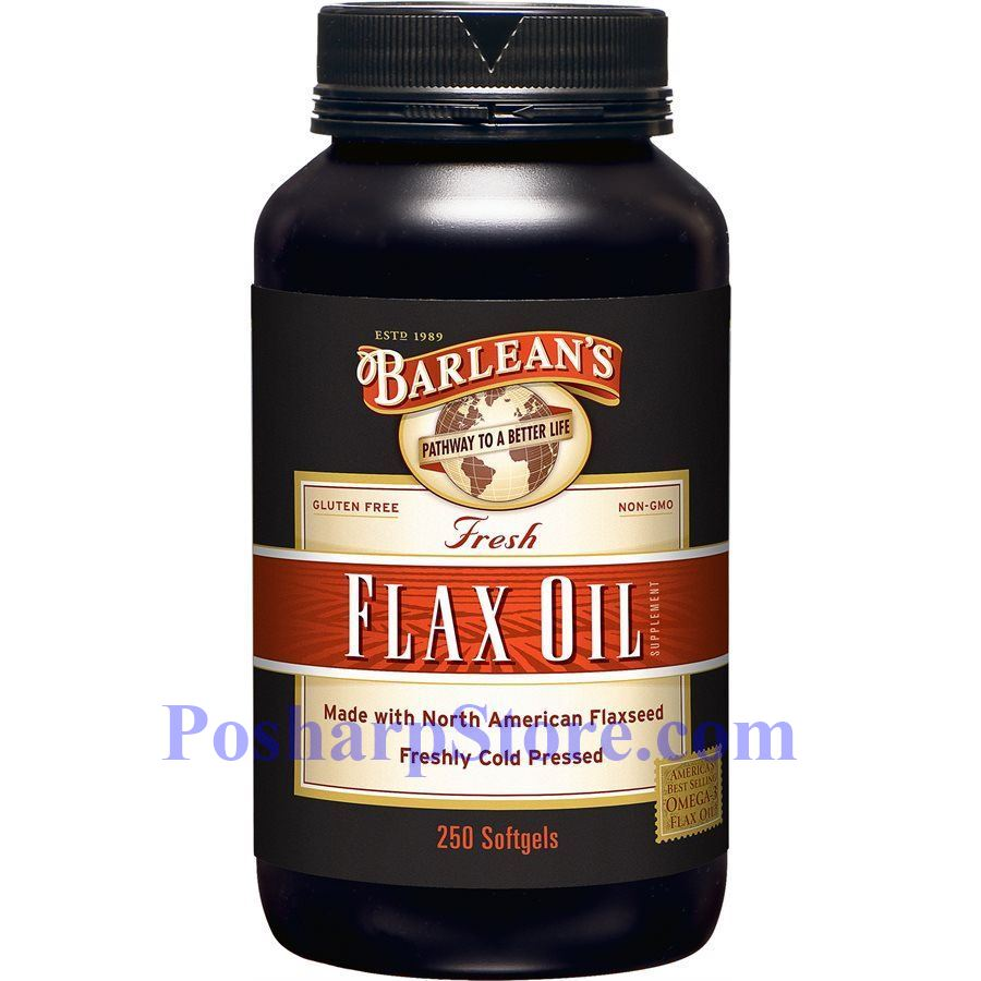 Picture for category Barlean's Pure/Fresh Flax Oil  250 Softgels