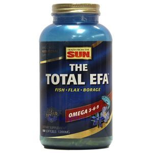 Picture of Health From the Sun The Total EFA Omega 3-6-9 3600 mg 180 Softgels 60 Servings