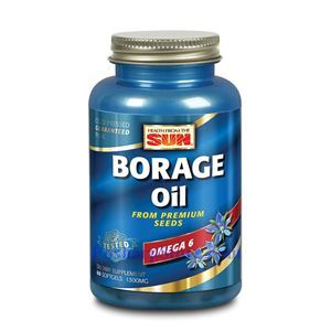 Picture of Health From the Sun Borage Oil 1300 mg 60 Softgels