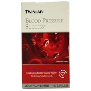 Picture of Twinlab Blood Pressure Success 60 Capsules