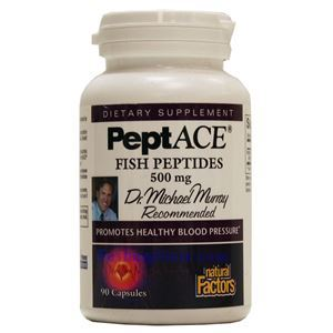 Picture of Natural Factors PeptACE® Fish Peptides 500 mg 90 Capsules
