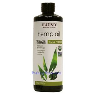 Picture of Nutiva Organic Hemp Oil 24 fl oz 50 Servings