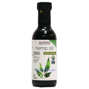 Picture of Nutiva Organic Hemp Oil 8 fl oz 16 Servings