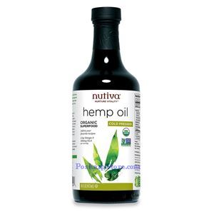 Picture of Nutiva Organic Hemp Oil 16 fl oz 32 Servings