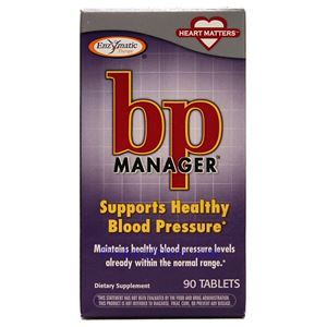 Picture of Enzymatic Therapy BP Manager Healthy Blood Pressure 90 Tablets 90 Servings