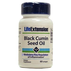 Picture of LifeExtension Black Cumin Seed Oil 60 Softgels