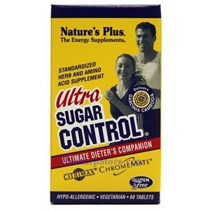 Picture of Nature's Plus Ultra Sugar Control 60 Tablets