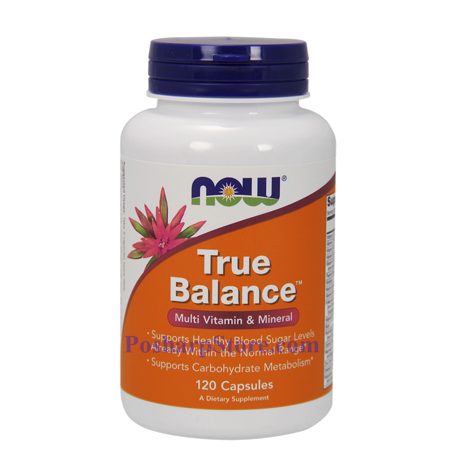 Picture for category Now Foods True Balance 120 Capsules