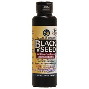 Picture of Amazing Herbs Black Seed™ Oil 8 fl oz