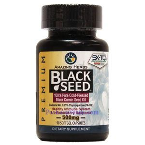Picture of Amazing Herbs Black Seed™ Oil 90 Softgels