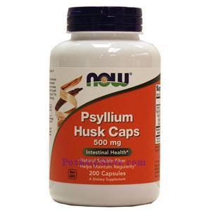Picture of Now Foods Psyllium Husk 500 mg 200 Capsules