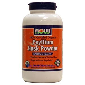 Picture of Now Foods Certified Organic Psyllium Husks Powder 12 Oz