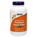 Picture of Now Foods Psyllium Husk Fiber  Orange Flavored 12 Oz
