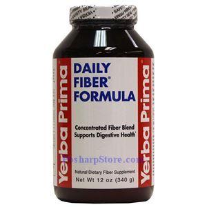 Picture of Yerba Prima Daily Fiber Formula 12 Oz
