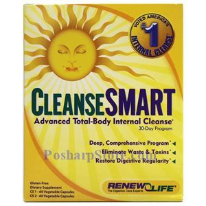 Picture of Renew Life CleanseSMART™ Advanced Total-Body Internal Cleanse 30 Day Kit