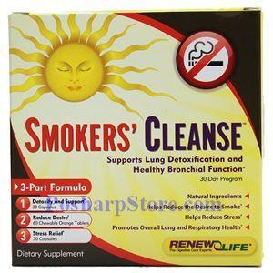 图片 Renew Life牌吸烟者专用清肺排毒30天套餐