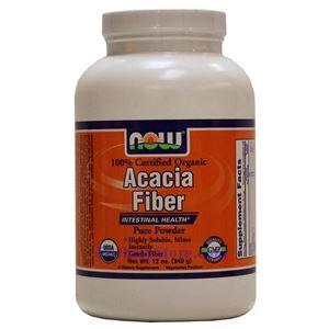 Picture of Now Foods Acacia Fiber Organic Powder 12 Oz