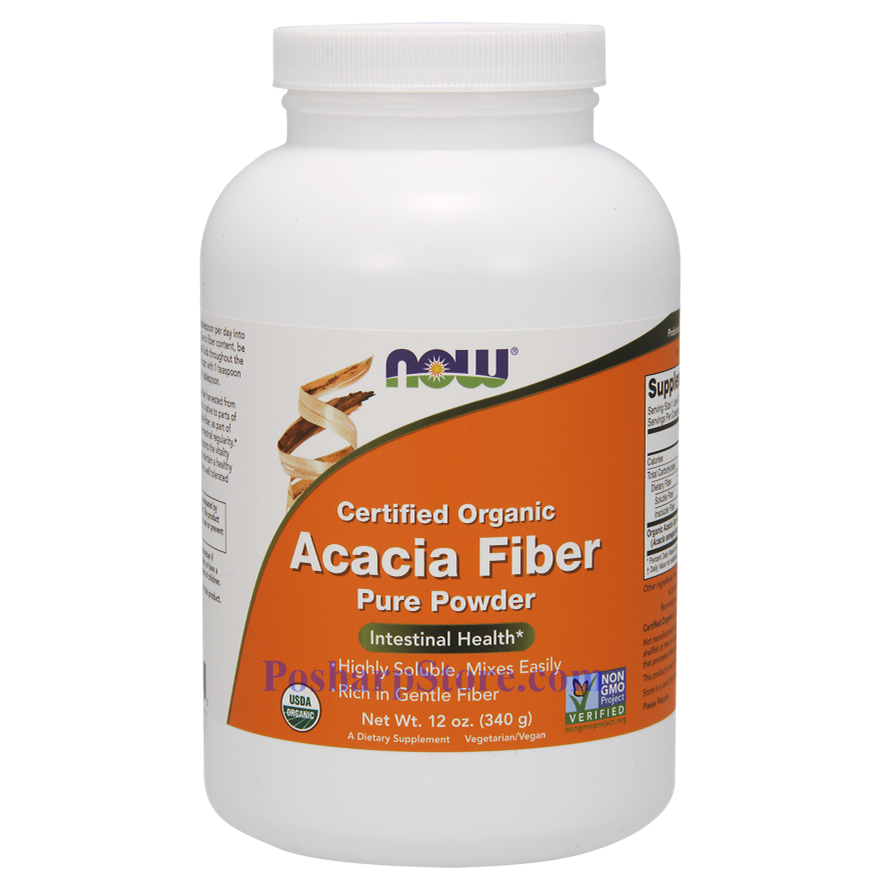 Picture for category Now Foods Acacia Fiber Organic Powder 12 Oz
