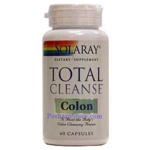 Picture of Solaray Total Cleanse Colon 60 Capsules