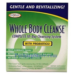 Picture of Enzymatic Therapy Whole Body Cleanse With Probiotics 10-Day Cleansing Kit