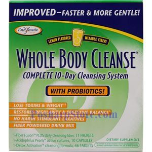 Picture of Enzymatic Therapy Whole Body Cleanse With Probiotics 10-Day Cleansing Kit Lemon Flavor