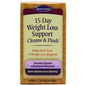 Picture of Nature's Secret 15 Day Weight Loss Cleansing Plan 60 Tablets