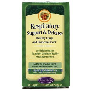Picture of Nature's Secret Respiratory Support & Defense 60 Tablets