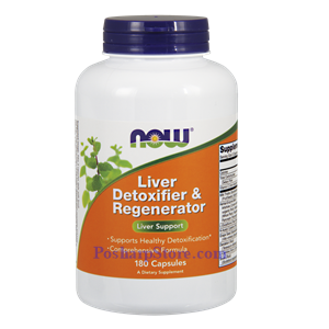 Picture of Now Foods Liver Detoxifier & Regenerator 180 Capsules
